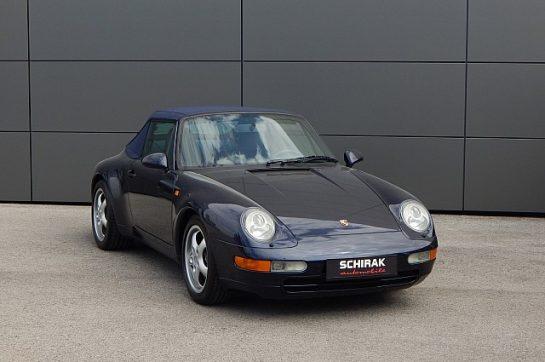 Porsche 911 Carrera Cabrio bei Schirak Automobile – Das Autohaus in St. Pölten in